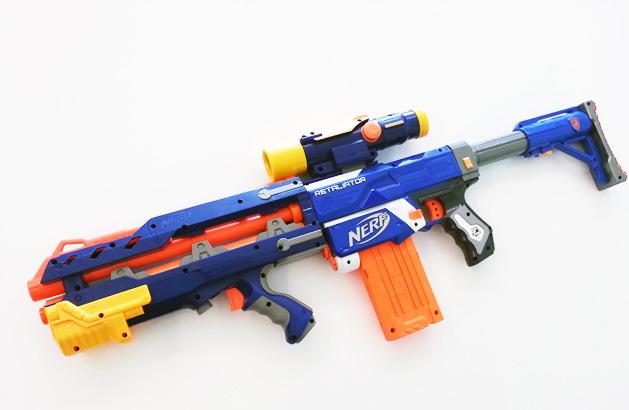 Modyfikacje Nerf N-Strike Elite Retaliator