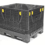 Caisse palette plastique pliable et gerbable