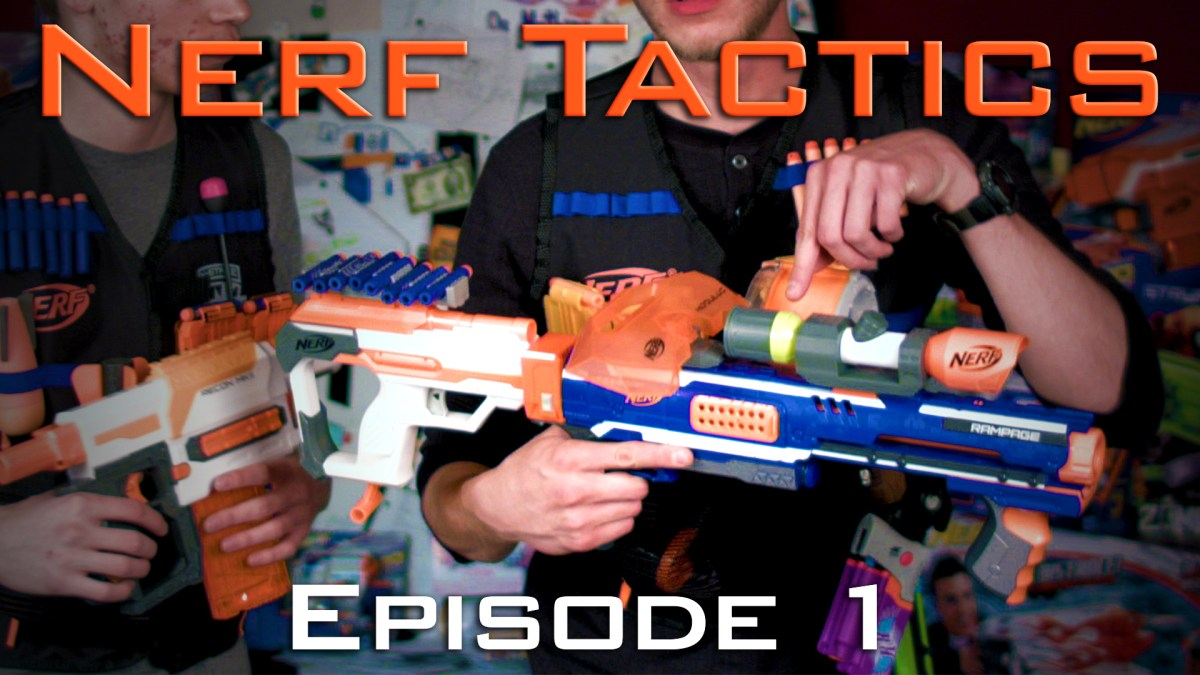 Nerf Tactics Episode 1 - The Basics