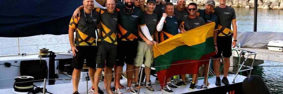 jachta Ambersail II Round Barbados Race Ambersail 2