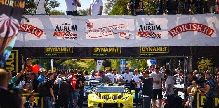 1006 km lenktynės - sprintas/ atidarymas