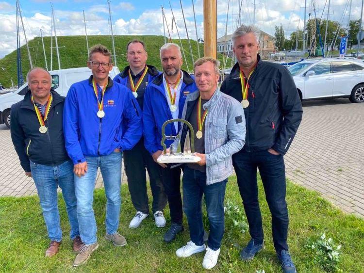 ORC čempionai Cool Water įgula