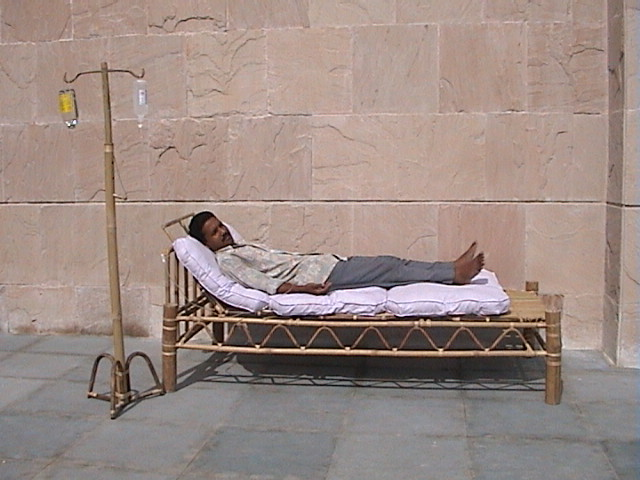 IIT-G makes bed made from bamboo