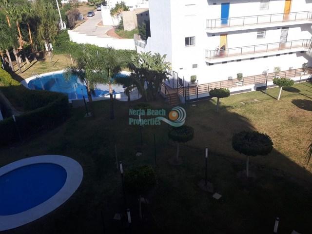 Torrox-Costa Penoncillo apartment 1 bedroom pool front line beach