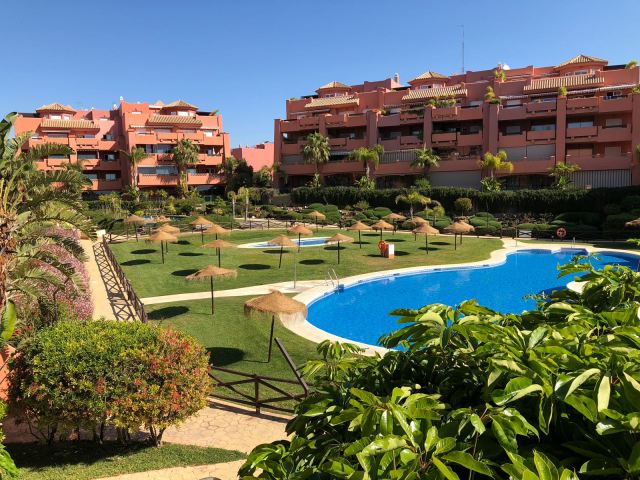 Torrox Punta del Faro luxury apartment frontline beach