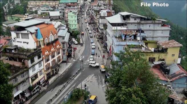 सिक्किम रिपाब्लिकन पार्टी ने बुलाया 72 घंटे का सिक्कम बंद