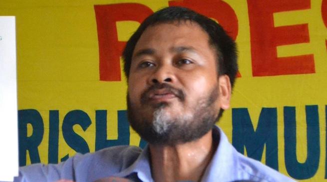 कृषक नेता अखिल गोगोई गिरफ्तार