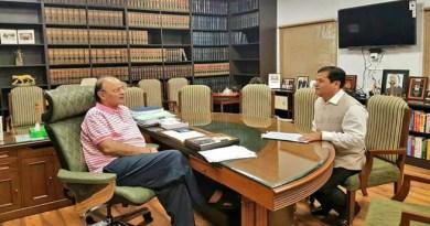 मुख्यमंत्री सोनोवाल मिले जेटली और प्रभु से, उद्योगों और परियोजनाओं पर हुई चर्चा