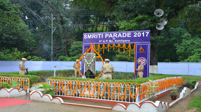असम पुलिस ने मनाया स्मृति दिवस