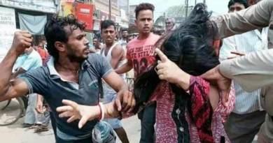 त्रिपुरा : महिलाओं की सरेबाजार पिटाई- तस्वीर हुई वायरल