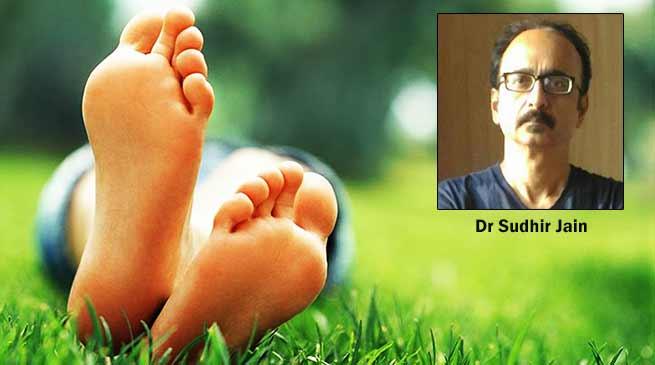 असम: 'डायबिटिक फुट डे' व प्रोजेक्ट 'चरण स्पर्श'- डॉ. सुधीर जैनद्वारा मानव सेवा का एक अनूठा प्रयास