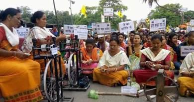 असम: बोडोलैंड की मांग पर ABSU का 5 दिवसीय नेशनल हाईवे अवरोध