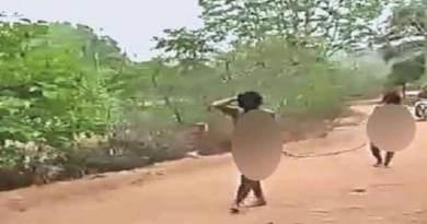 राजस्थान: प्रेमी युगल को निर्वस्त्र कर पुरे गाँव में घुमाया