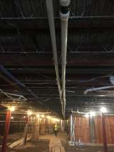 "Uponor 2"" PEX install - Lord Amherst Hotel"