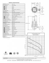 Zoeller Shark Grinder Series Pump Sell Sheet back