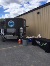 NTI Trailer and NESA Logo Tablecloth