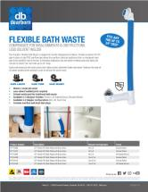 DB Flexible Bath Waste