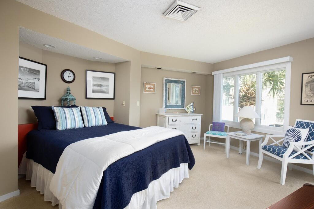 Wild Dunes Condo Bedroom Photo