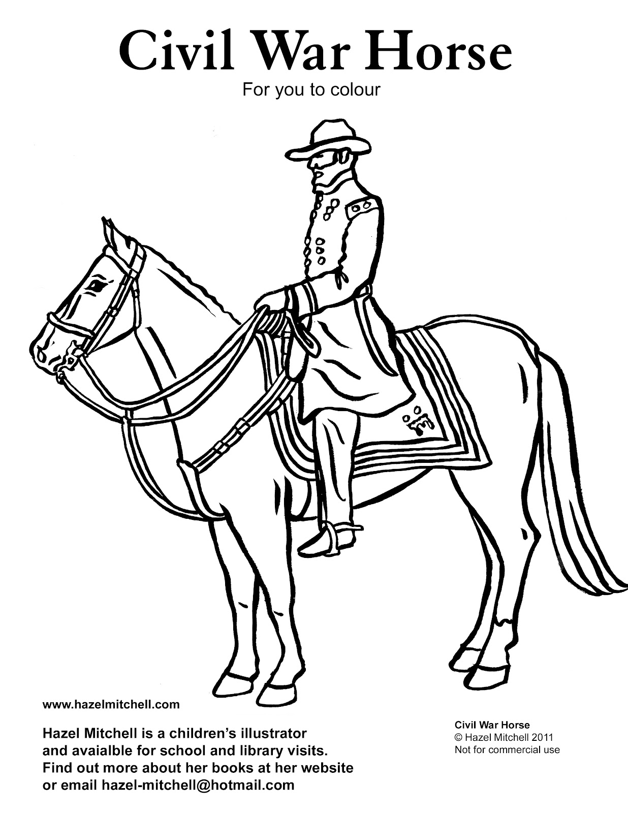 page for kids civil war horse 117454 civil war coloring pages