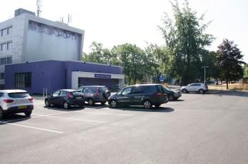 car park staff 2 buildings
