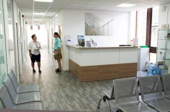 Film location nescot ewell epsom surrey college clinic surgery reception