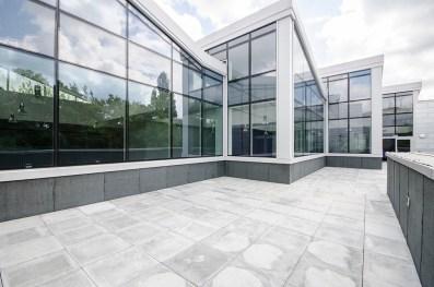 contemporary building balcony