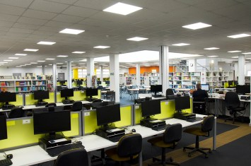 film location nescot epsom surrey library