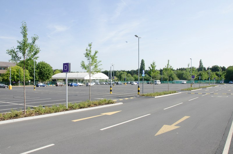 Film location nescot ewell epsom car park location base