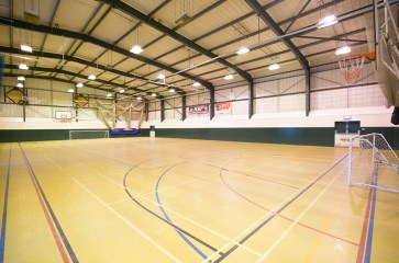 sporting sports hall