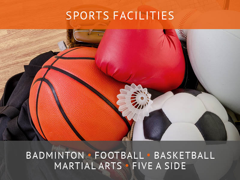 Nescot gym and sports centre in Ewell near Epsom. Badminton, basketball, football. Open to the public.