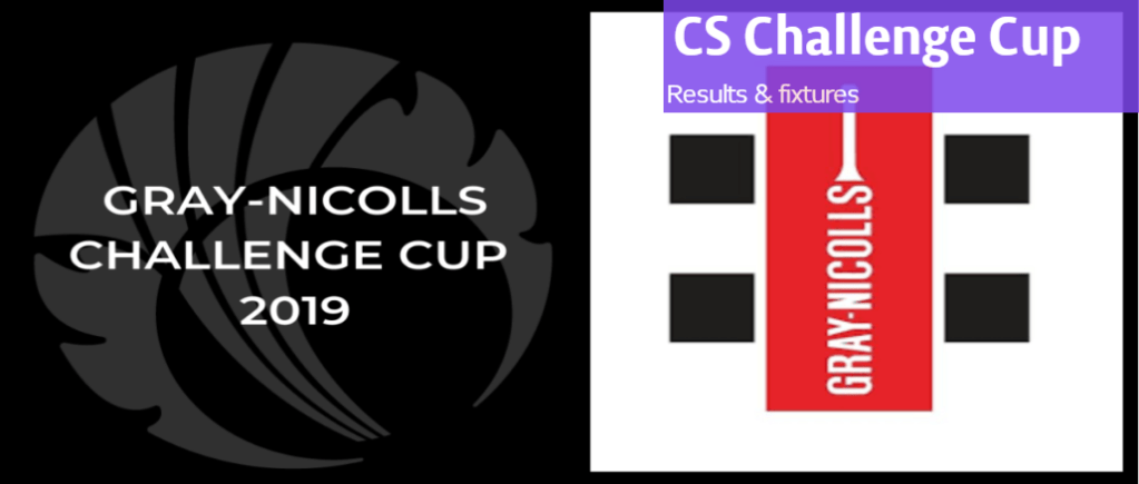 CS Challenge Cup results and fixtures
