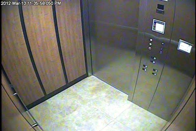 Elevator Security Camera