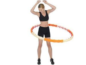 Упражнения с обручем для талии