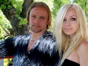 Валерия Лукьянова с мужем Дмитрием