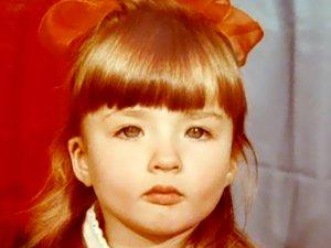 Лера Лукьянова в детстве
