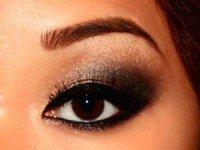 макияж для глаз с нависшими веками
