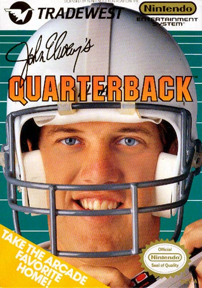 Quarterback, John Elway's - Label or Box Art