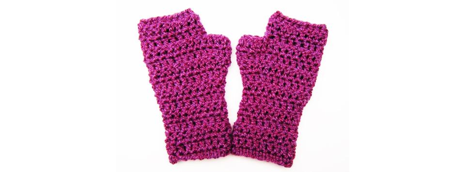 Плетене на ръкавици без пръсти