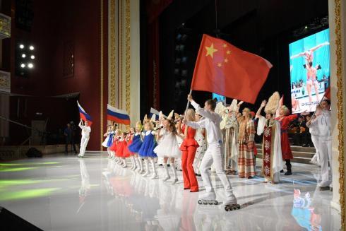 Открыли VIII Молодежные Российско-китайские летние игры