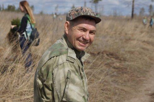 Пока горит лес, тольяттинское лесничество находится в стадии становления
