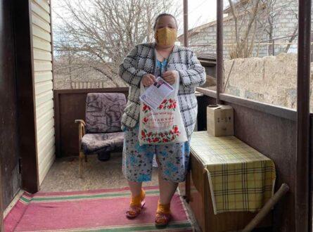 200 многодетных семей Кинеля получили «витаминные наборы»