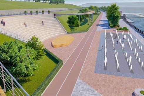 Стоимость строительства набережной Автозаводского района сократилась