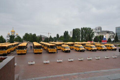 Сельским школам Самарской области обновили автобусный парк