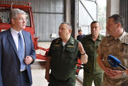Председатель Правительства посетил пожарно-химическую станцию в Волжском районе