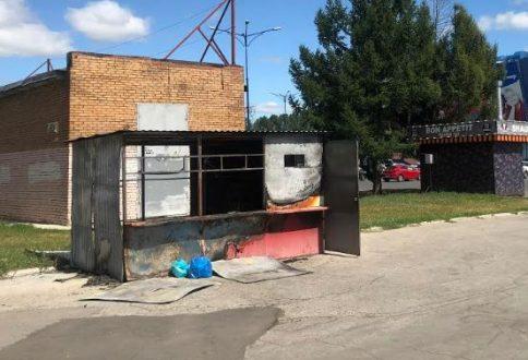В Тольятти подожгли пункт для раздельного сбора мусора