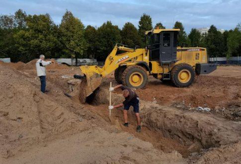 Строительство сквера имени Жилкина в Тольятти идёт по графику