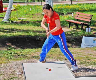 Самарские спортсмены заняли призовые места на чемпионате по мини-гольфу