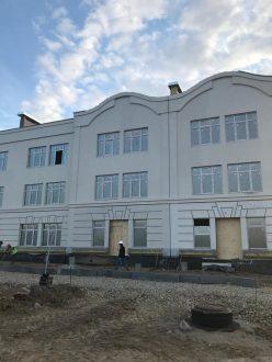В микрорайоне Кошелев-Парк строится новый детский сад
