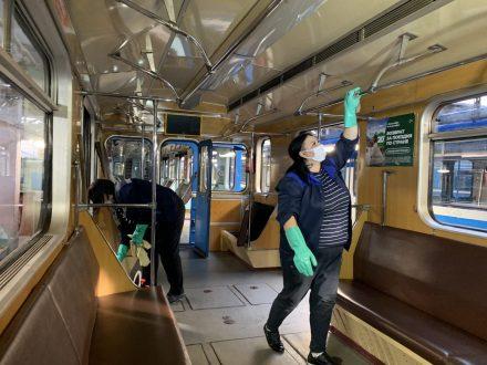 В Самарском метрополитене ведется усиленная санобработка