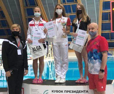 В Казани прошел второй соревновательный день Кубка президента республики Татарстан по прыжкам в воду